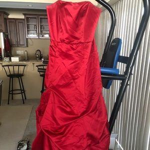 Size 8 David's bridal bridesmaid dress.